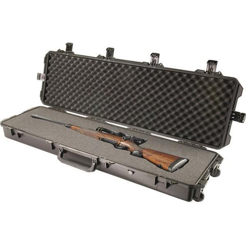 Pelican Storm Case IM3300-00001 iM3300 Storm Long Case with Pick N Pluck Foam (Black) - Peazz.com