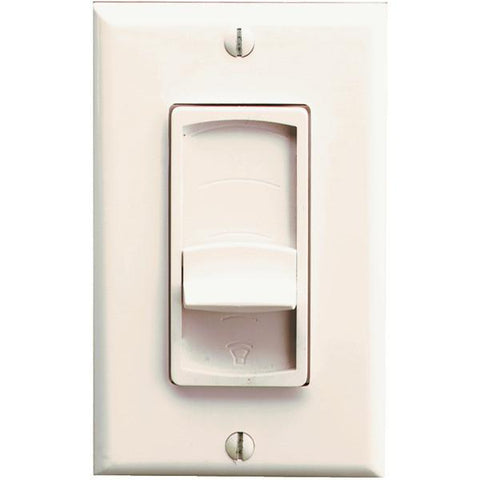 Pro-Wire VX-100I Stereo In-Wall Slider Volume Control (Imp matching, Ivory) - Peazz.com