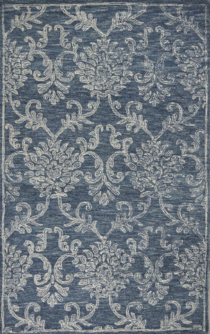 KAS Rugs SAS66315X7 Sasha Collection Denim Finish