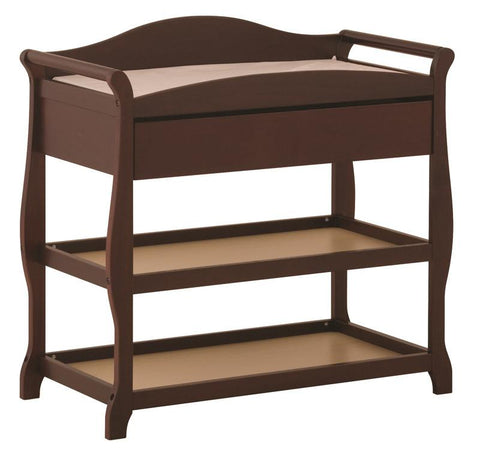 Storkcraft 00524-584 Aspen Infant Changing Table -Cherry - Peazz.com