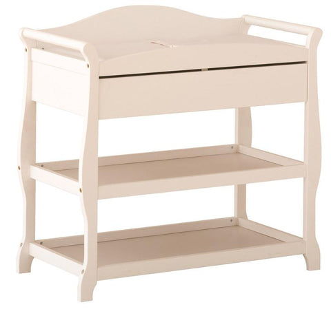 Storkcraft 00524-581 Aspen Infant Changing Table-White - Peazz.com