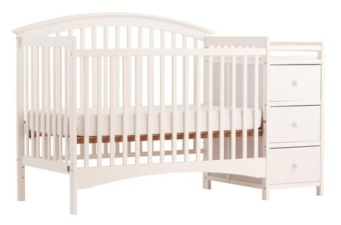 Storkcraft 04586-351 Bradford Crib Changer-White - Peazz.com