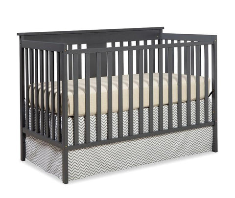 Storkcraft 04510-35G Mission Ridge Fs Conv Crib-Gray - Peazz.com