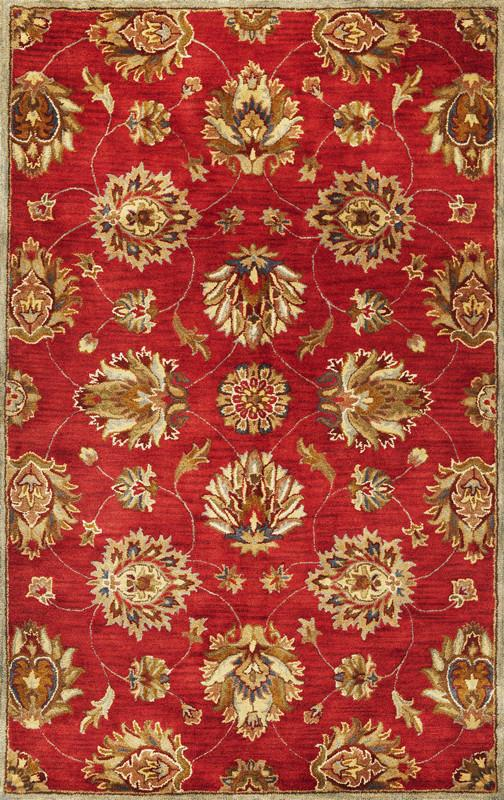 Wool | Rug | Red | New