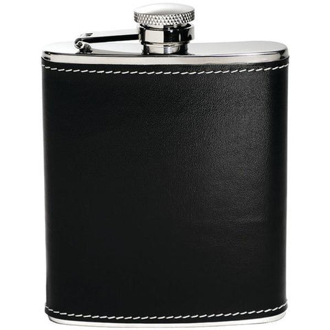Houdini W2604 6oz Pocket Flask (Black) - Peazz.com