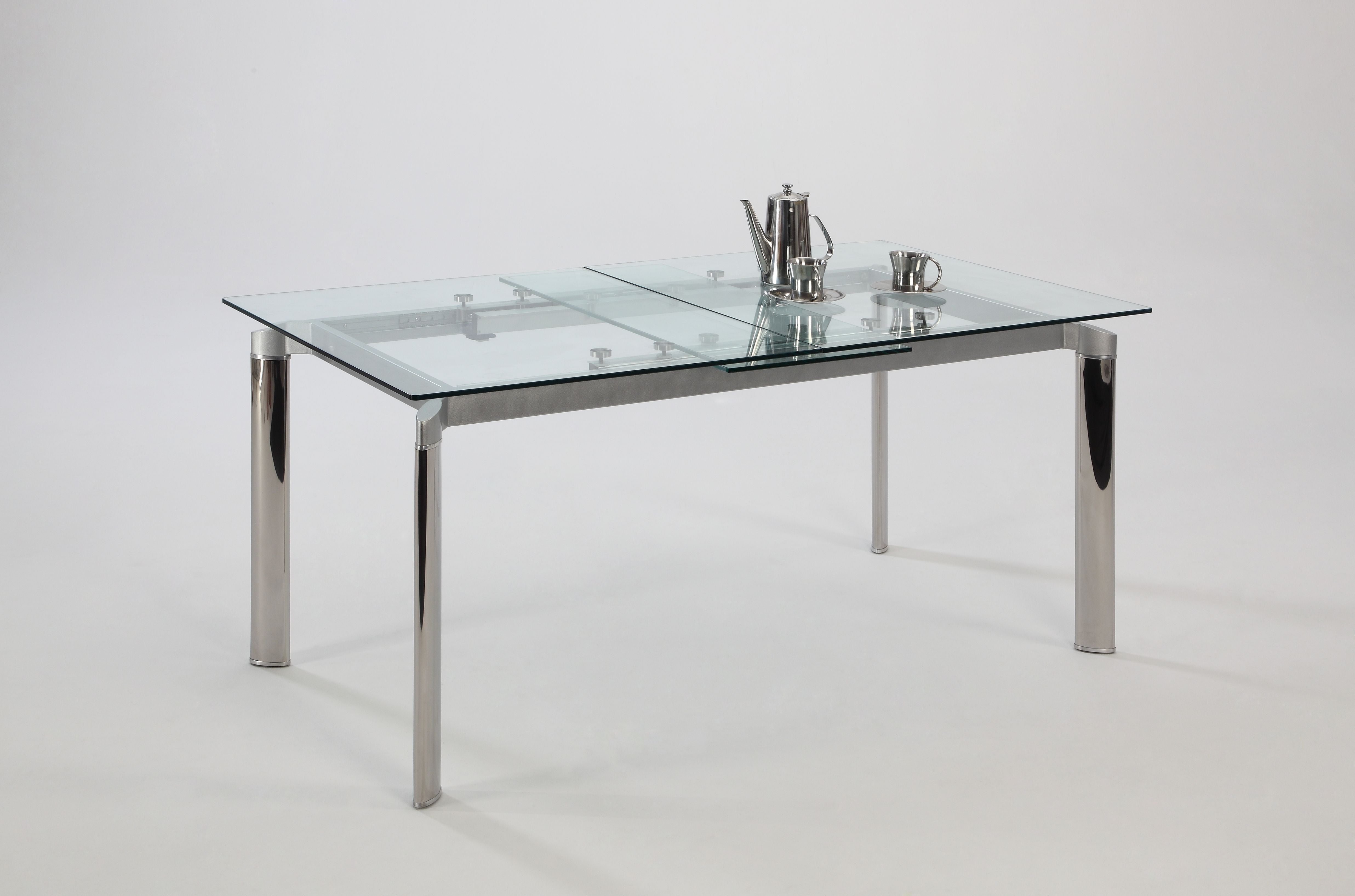 Chintaly Extension Clear Glass Dt Pop