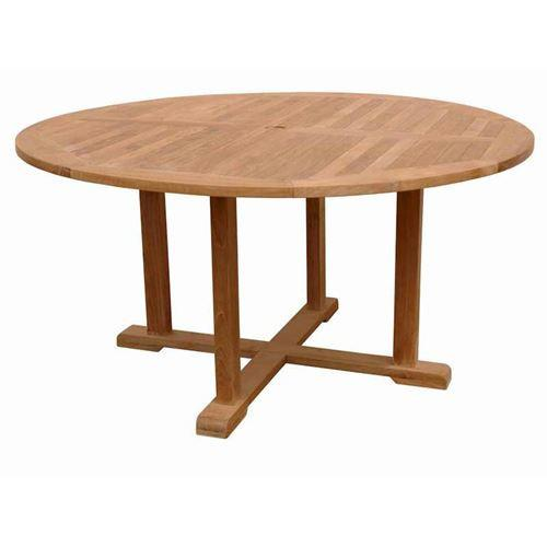 Anderson Teak Foot Round Table Tosca