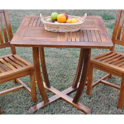 "Anderson Teak TB-031TO 31"" Square Dining Table - Peazz.com"