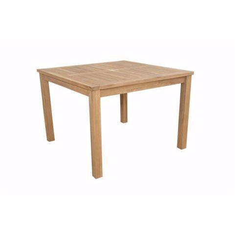 Anderson Teak Square Table Montage
