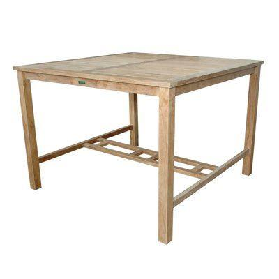 Bar Table D H Small Slat 467 Product Photo