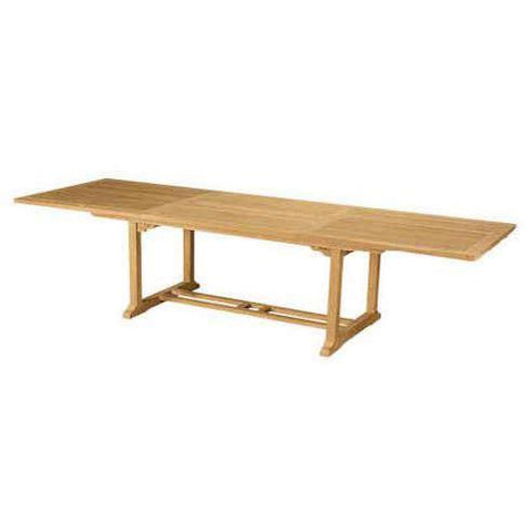 Anderson Teak TBX-010R Bahama Rectangular Ext. Dining Table - Peazz.com