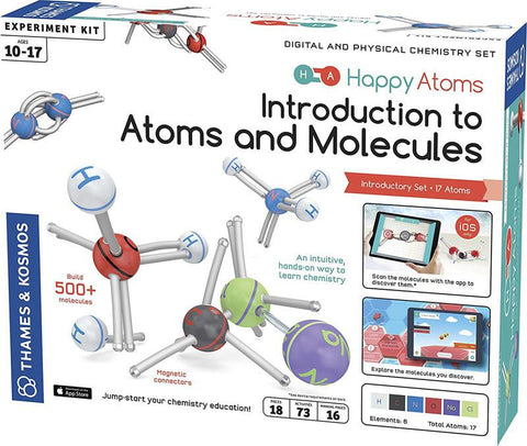 Thames & Kosmos 585002 Happy Atoms Introductory Set (17 Atoms)
