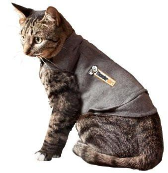 ThunderShirt Cat Small Grey - Peazz.com