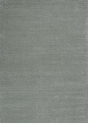 KAS Rugs Transitions 3316 Frost Horizon Hand-Tufted 100% Wool with Viscose Highlights 8' X 10'