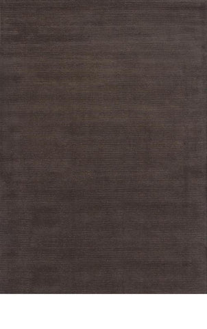 KAS Rugs Transitions 3320 Mocha Horizon Hand-Tufted 100% Wool with Viscose Highlights 8' X 10'