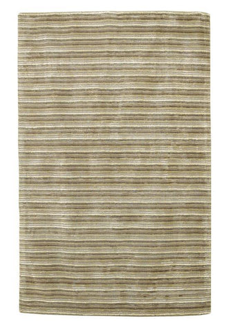 "KAS Rugs Transitions 3340 Platinum Horizon Hand-Tufted 100% Wool with Viscose Highlights 30"" x 50"""