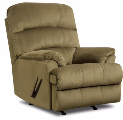 United Furniture Industries U271-19 Hampton Army Rocker Recliner - Peazz.com