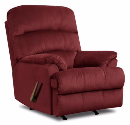 United Furniture Industries U271-19 Hampton Merlot Rocker Recliner - Peazz.com
