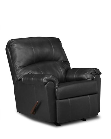 United Furniture Industries U278-19 Windsor Black Rocker Recliner - Peazz.com