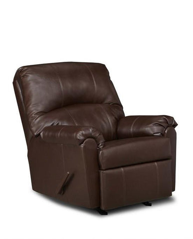 United Furniture Industries U278-19 Windsor Walnut Rocker Recliner - Peazz.com