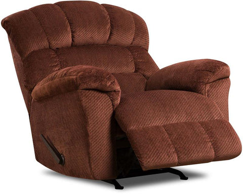 United Furniture Industries U558-19 Victor Burgundy Rocker Recliner - Peazz.com