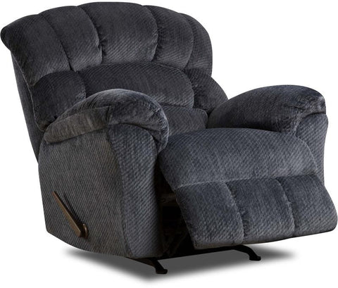 United Furniture Industries U558-19 Victor Navy Rocker Recliner - Peazz.com