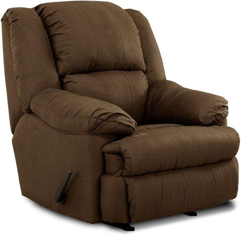 United Furniture Industries U604-19 Luna Chocolate Rocker Recliner - Peazz.com