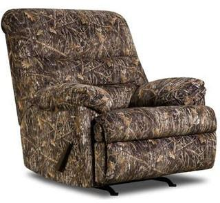 United Furniture Industries U683-19 Conceal Brown Rocker Recliner (Gel Seating) - Peazz.com