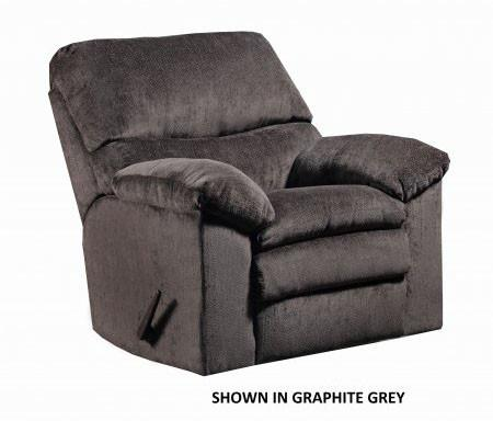 United Furniture Industries U684-19 Plato Chocolate Rocker Recliner - Peazz.com
