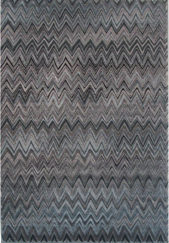 LA Rug V-104-2X8 Vista Collection Multi-Color - Peazz.com