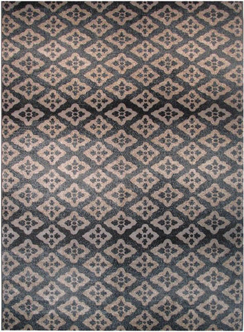LA Rug V-109-8X11 Vista Collection Multi-Color - Peazz.com