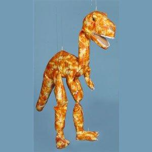 "Sunny Toys 38"" Large Dinosaur (Orange)"