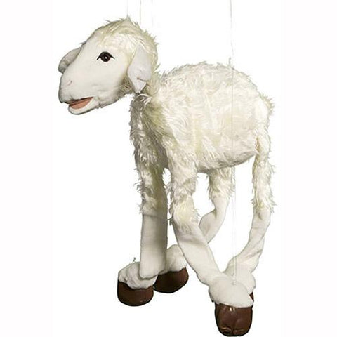 "Sunny Toys 38"" Large White Sheep"