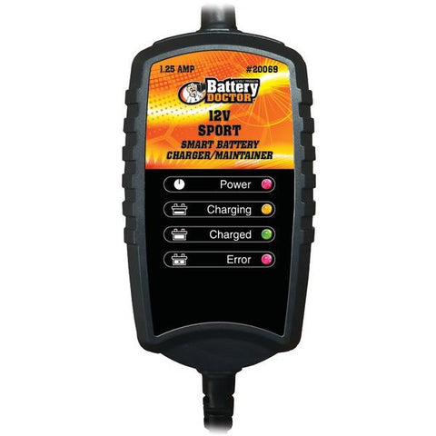 Battery Doctor 20069 Battery Doc 12-Volt 1.25-Amp Sport CEC Charger/Maintainer - Peazz.com