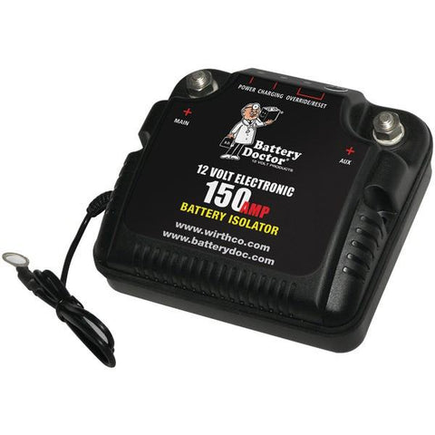 Battery Doctor 20092 12-Volt Battery Isolator (150 Amp Peak) - Peazz.com