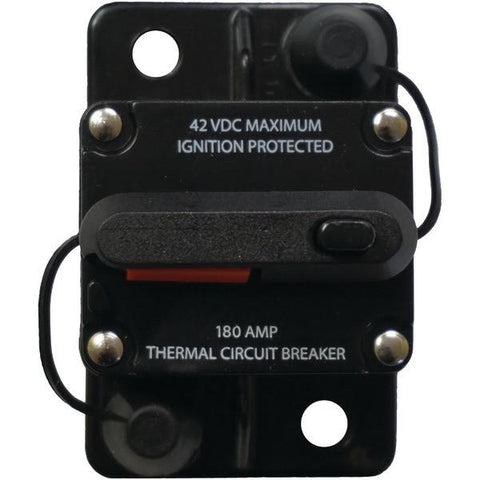 Battery Doctor 31208-7 Manual-Reset Circuit Breaker (180 Amps) - Peazz.com