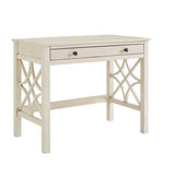 Linon WM130WHT01U Whitley Antique White Desk