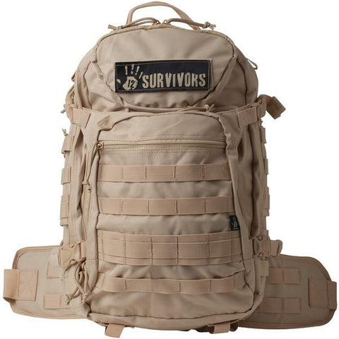 12 Survivors TS41000T Tactical Backpack (Tan) - Peazz.com