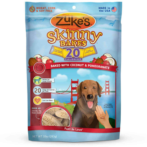 Zuke's Z-30637 Skinny Bakes 20's Coconut and Pomegranate 10 oz.