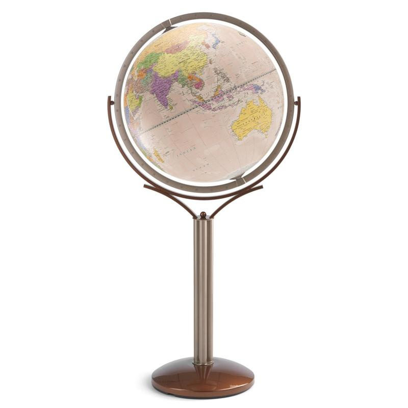 Zoffoli Globes USA art902-50-02 20 Inch Magellano Globe with Antique Ocean Globe