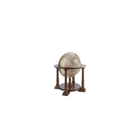 Zoffoli Globes USA art906-50-02 20 Inch Mercatore Globe with Antique Ocean Globe