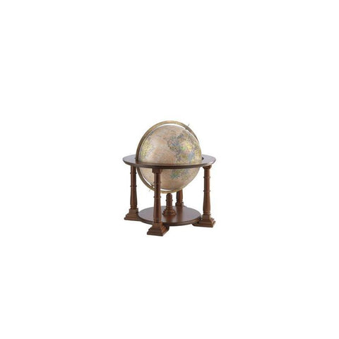 Zoffoli Globes USA art906-60-02 24 Inch Mercatore Globe with Antique Ocean Globe