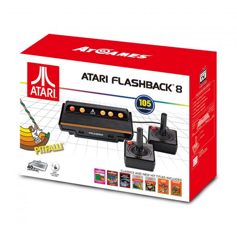 Atari Flashback 8 with 105 games and two wired Controllers (AR3220)