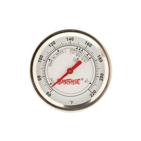 "Bayou Classic 12"" Brew Thermometer with clip 800-772  Thermometer"