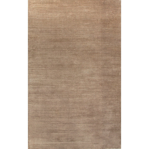 Jaipur Rugs RUG112057 Solids/ Handloom Solid Pattern Wool/ Art Silk Taupe/Tan Area Rug ( 2X3 )