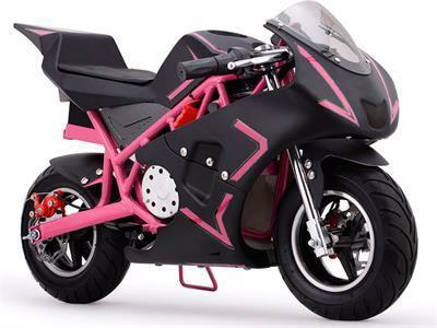 MotoTec MT-EP-Cali-Pink Cali Electric Pocket Bike 36v Pink