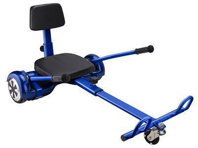 MotoTec MT-HoverKart-Blue Hover Go Kart Attachment Blue