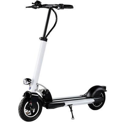 MotoTec MT-Rover-White Rover 500w Lithium Scooter Black