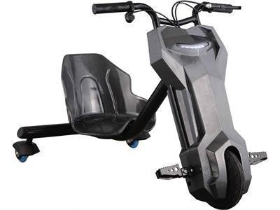 MotoTec MT-Triker-Black Triker 24v Drift Scooter (Lithium) Black