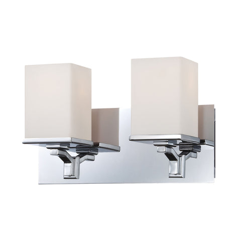 Alico BV2082-10-15 Ramp Collection Chrome Finish Vanity